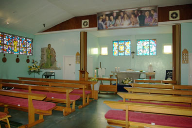 Interior of St Paul the Apostle, Tintagel